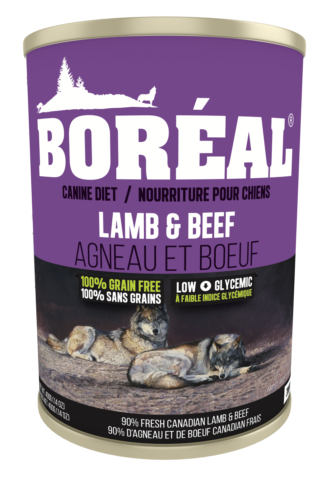 Big Bear Lamb & Beef 690g