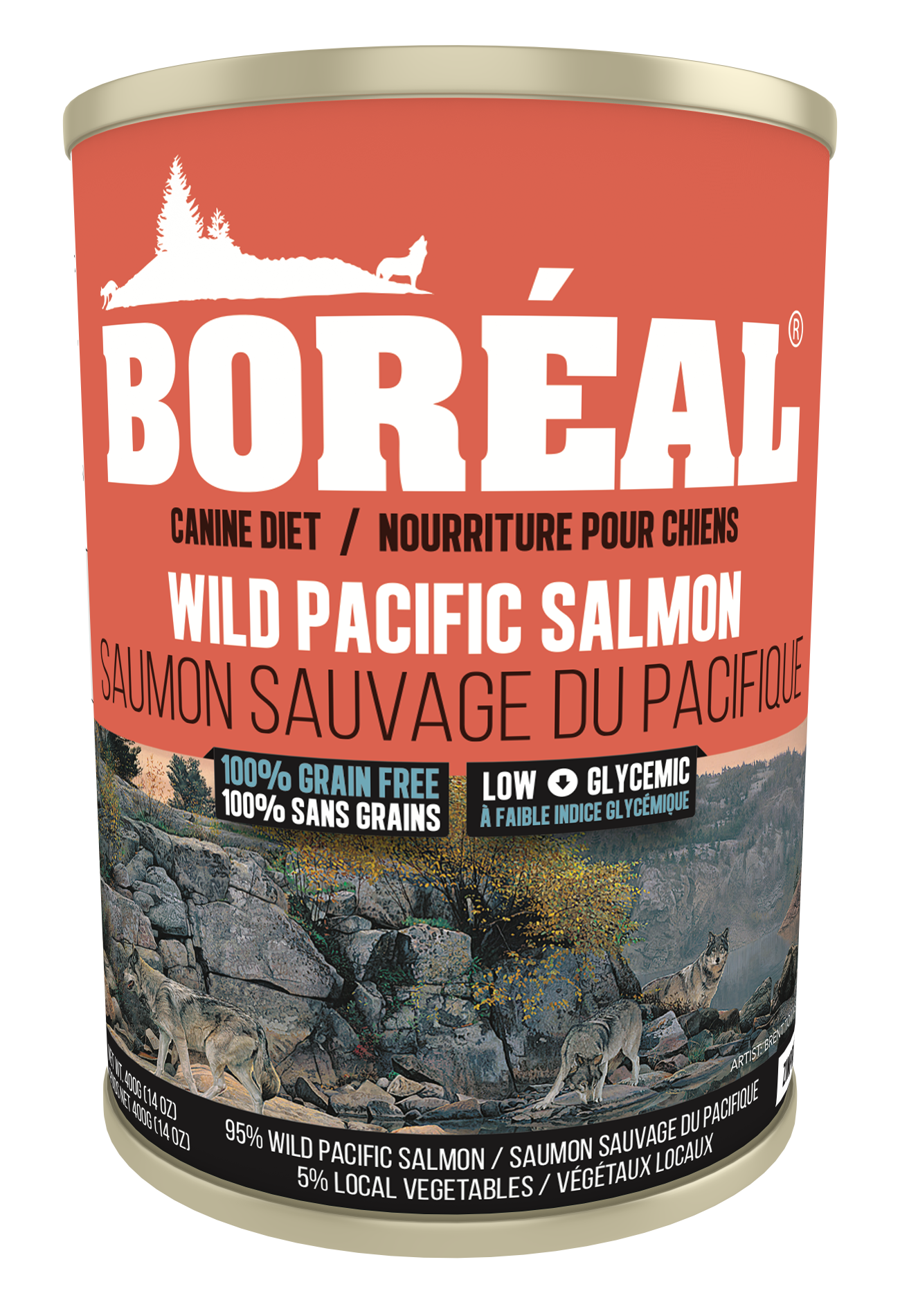 Big Bear Wild Pacific Salmon 690g