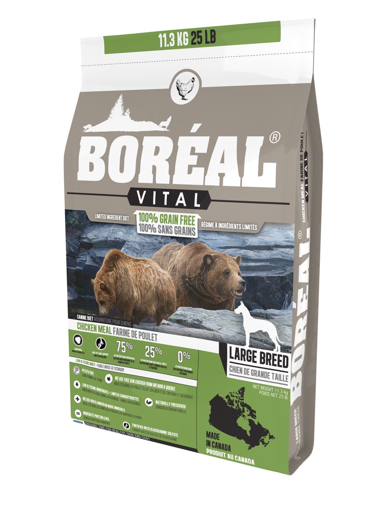 Vital Large Breed Chicken Meal - Grain Free
