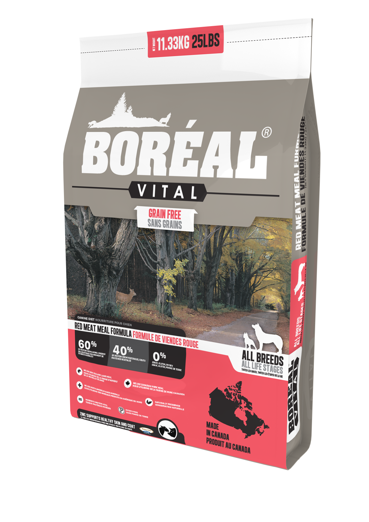 Vital All Breed Red Meat Meal - Grain Free
