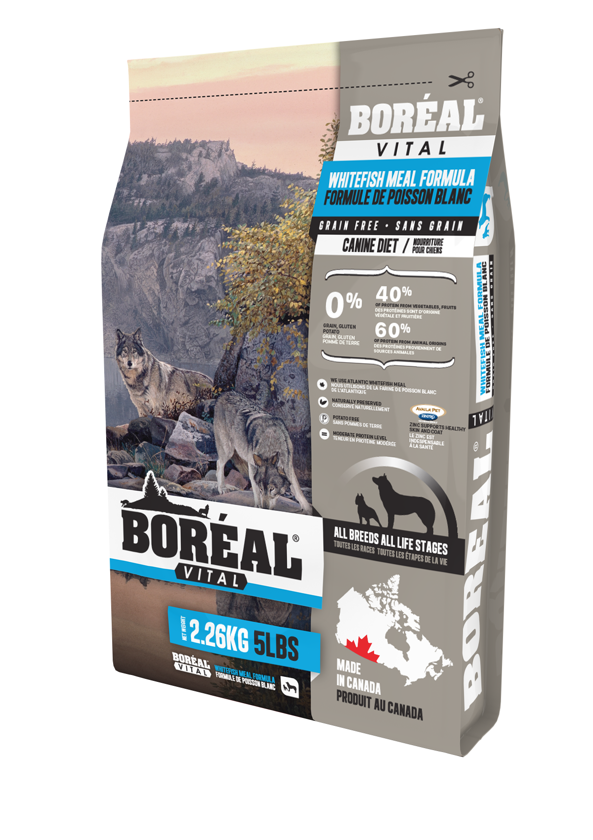 Vital All Breed Whitefish Meal - Grain Free
