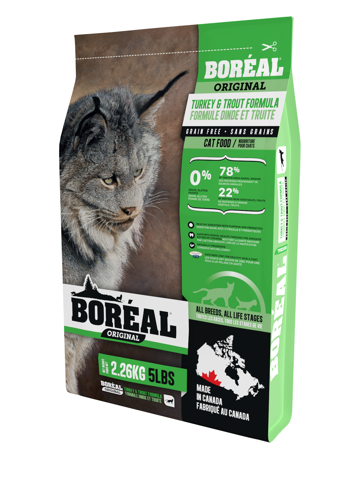 Boréal Original Turkey and Trout